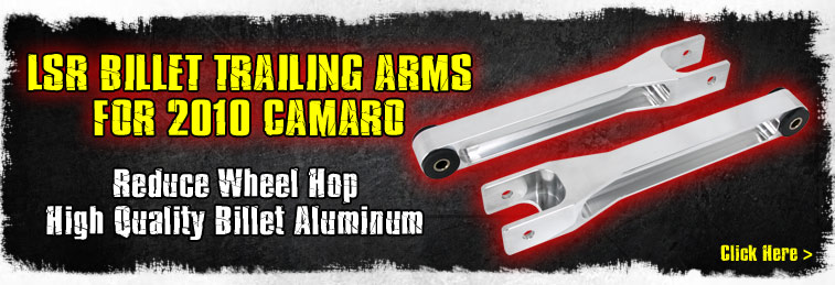 Camaro Billet Trailing Arms